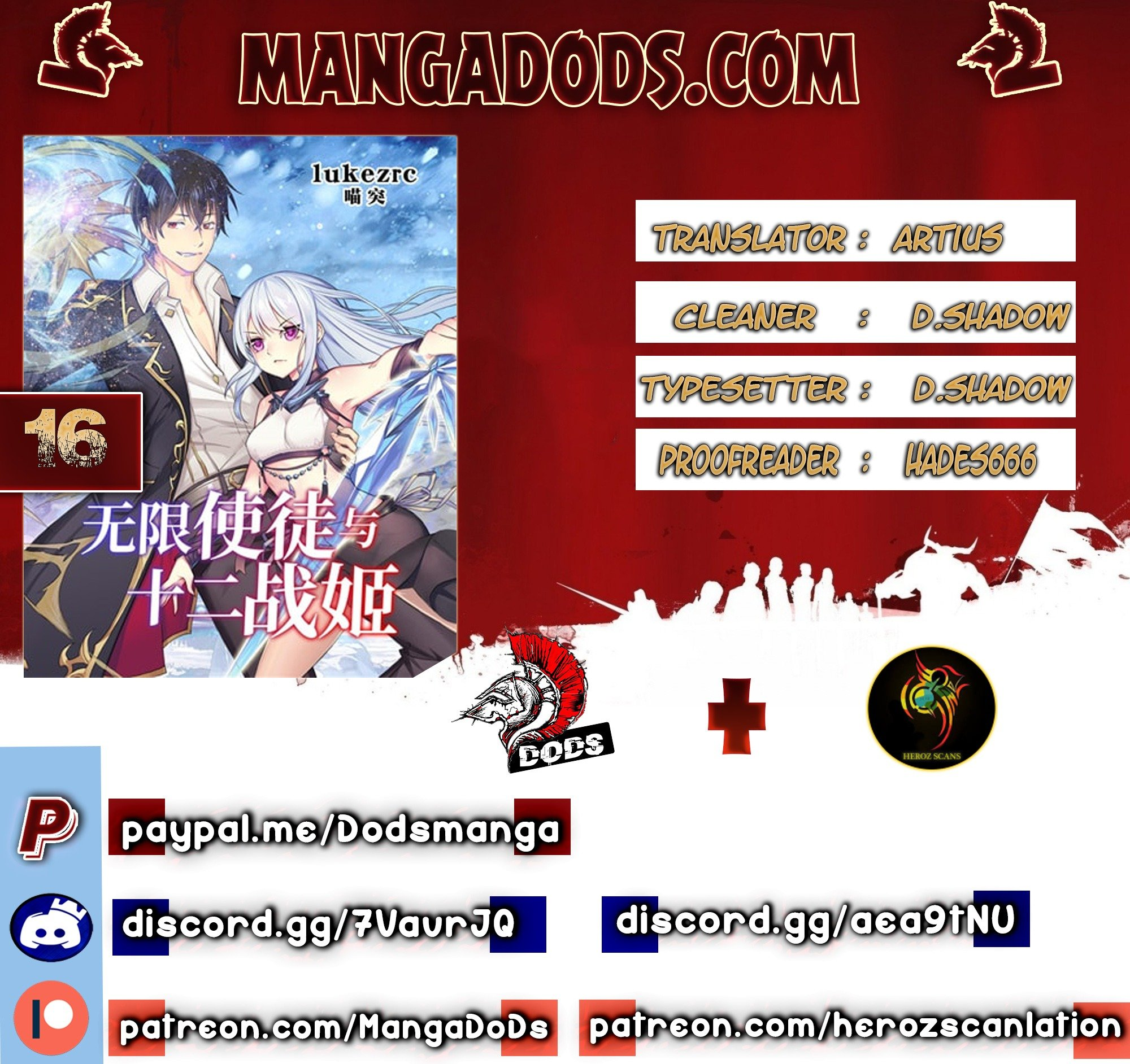 Manga Infinite Apostles And Twelve War Girls - Chapter 16 Page 1