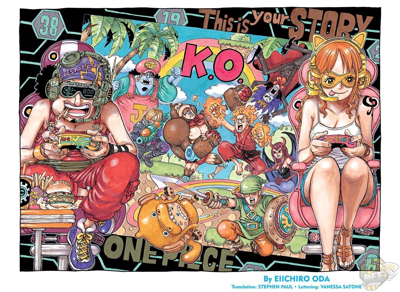 Manga One Piece - Chapter 1028 Page 1