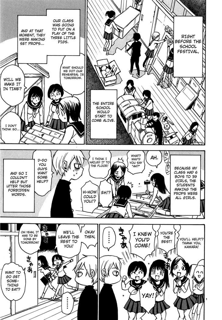 Manga Nanako-San Teki Na Nichijou Dash!! - Chapter 4 Page 1