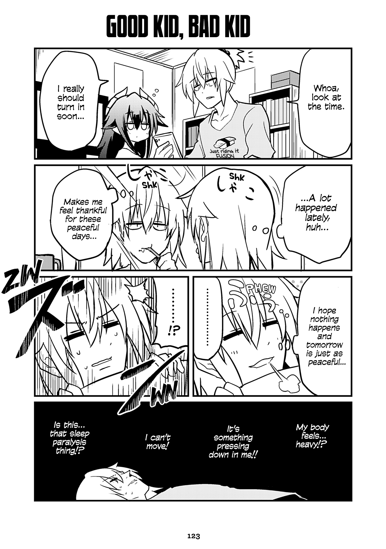 "Manga Naughty Succubus ""saki-Chan"" - Chapter 197 Page 1"