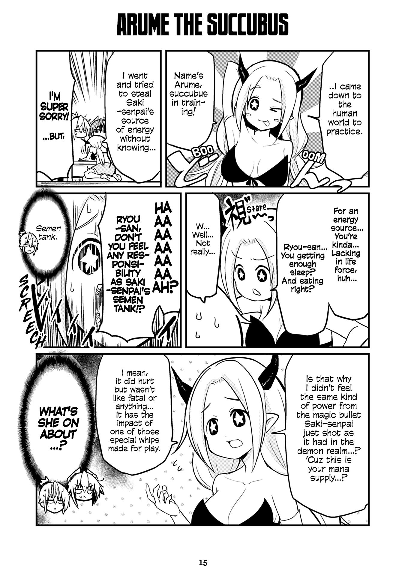 "Manga Naughty Succubus ""saki-Chan"" - Chapter 109 Page 1"