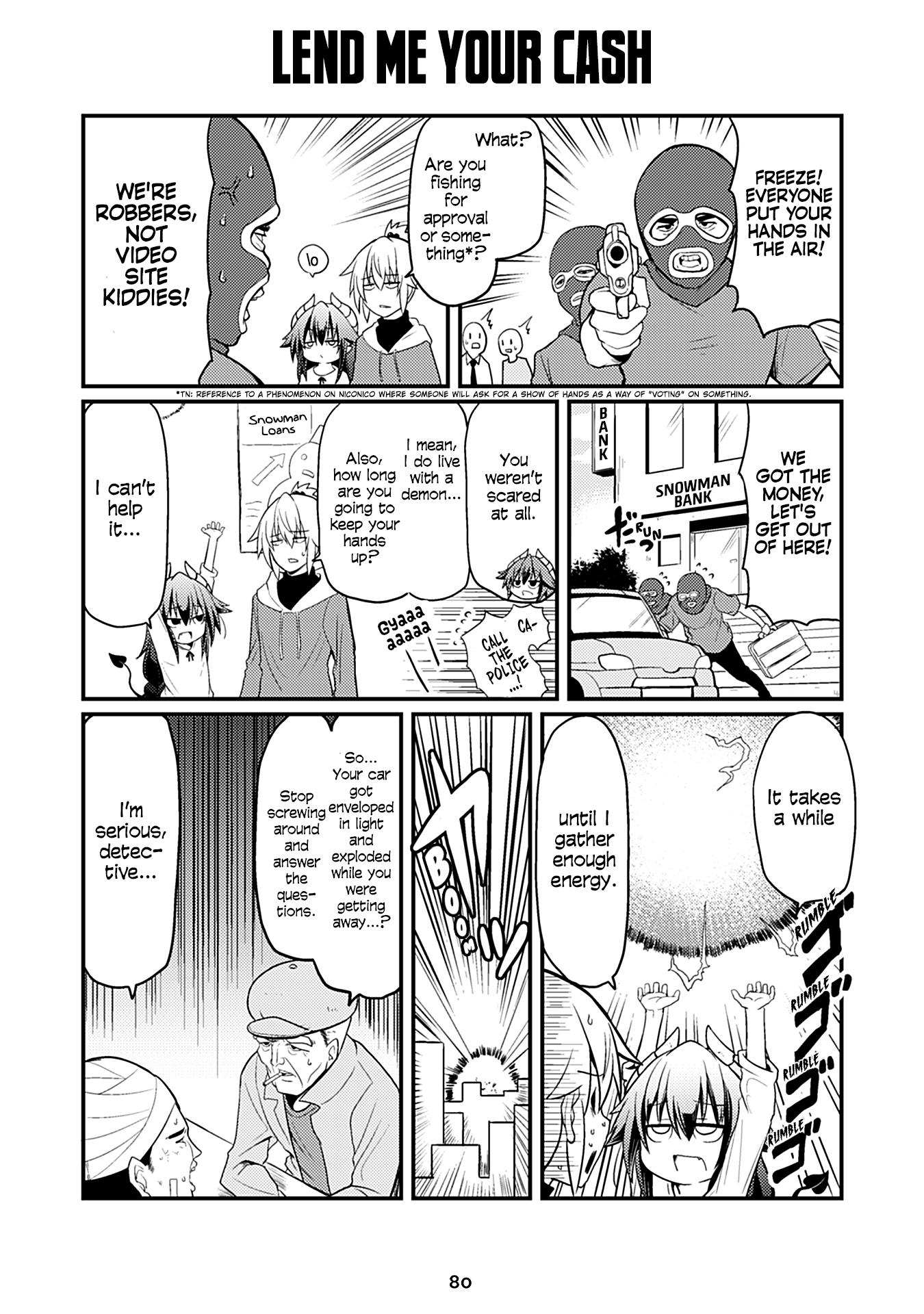 "Manga Naughty Succubus ""saki-Chan"" - Chapter 68 Page 1"