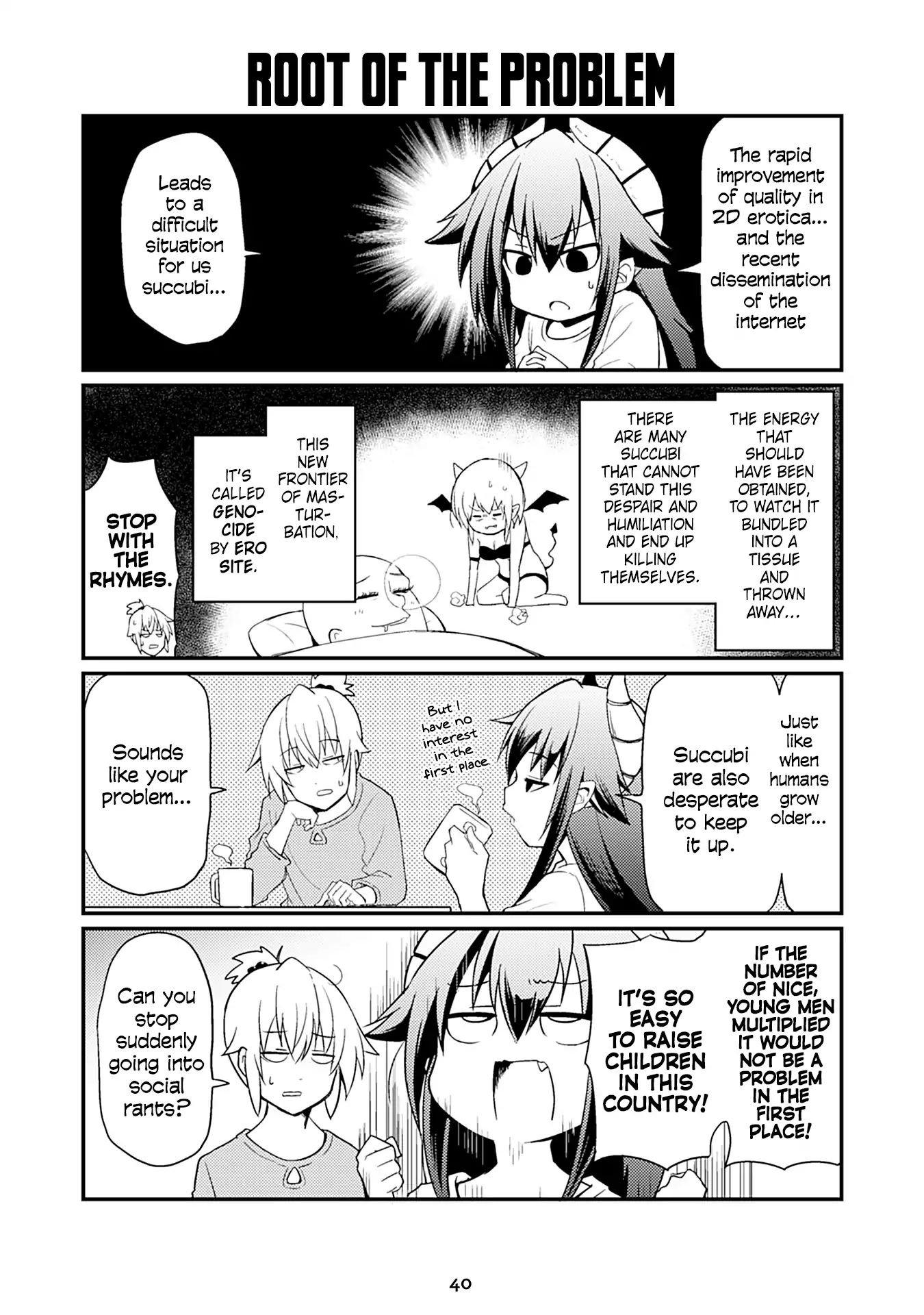 "Manga Naughty Succubus ""saki-Chan"" - Chapter 36 Page 1"