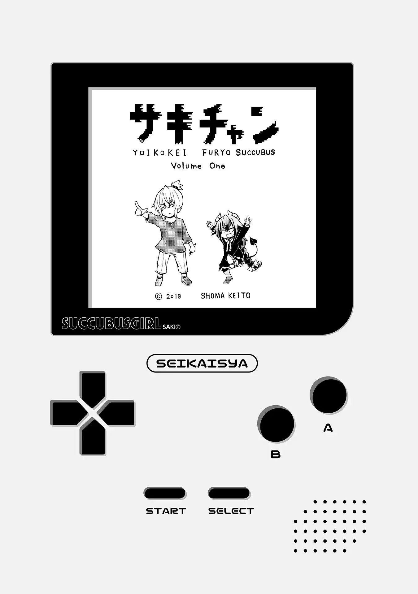 "Manga Naughty Succubus ""saki-Chan"" - Chapter 1 Page 1"