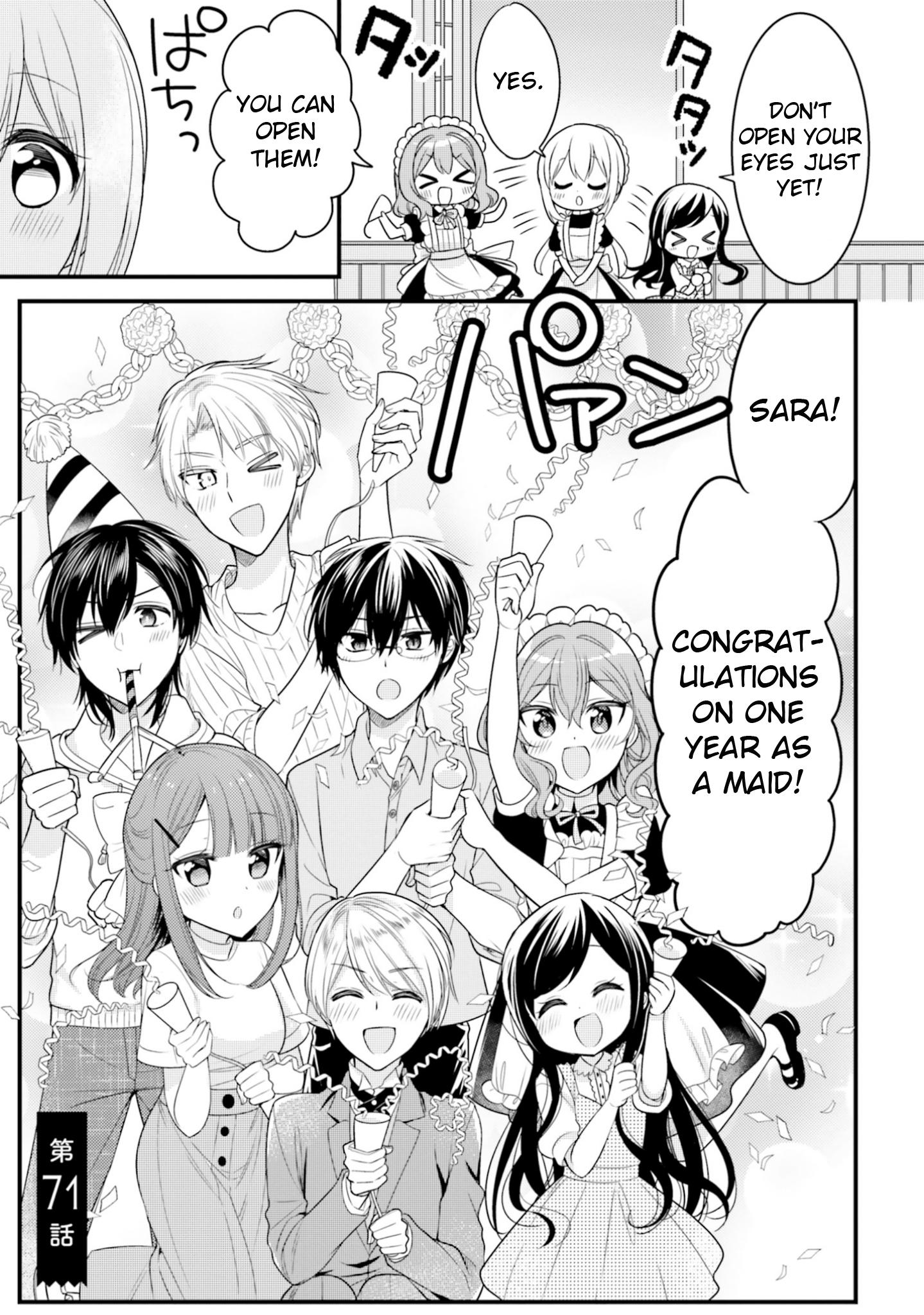 Manga Orenchi No Maid-San - Chapter 71 Page 1