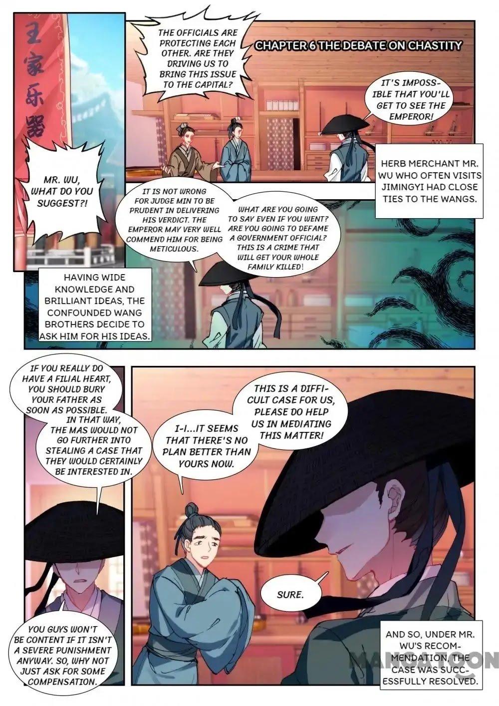 Manga Reincarnation Cycle - Chapter 6 Page 1