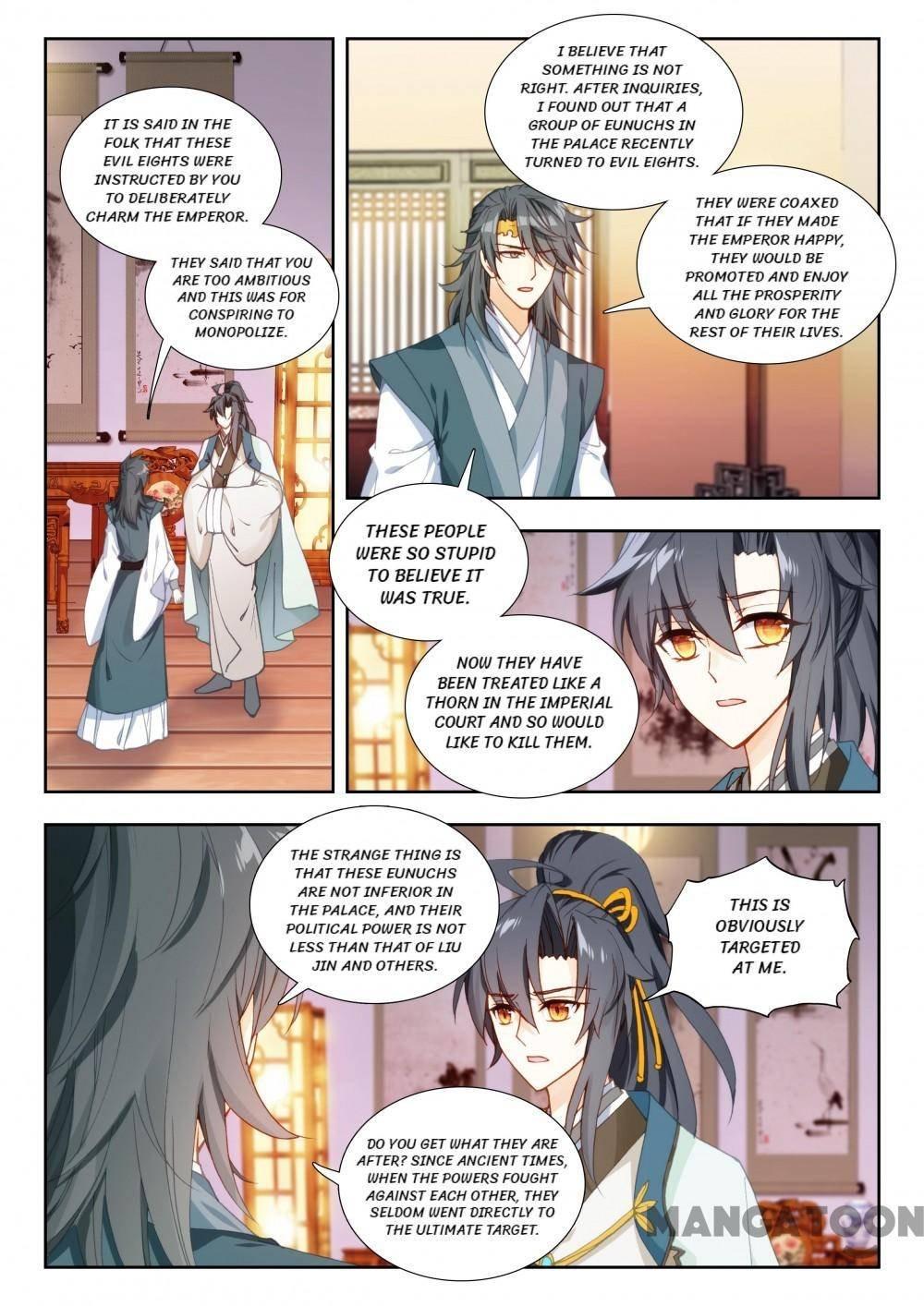 Manga Reincarnation Cycle - Chapter 134 Page 1