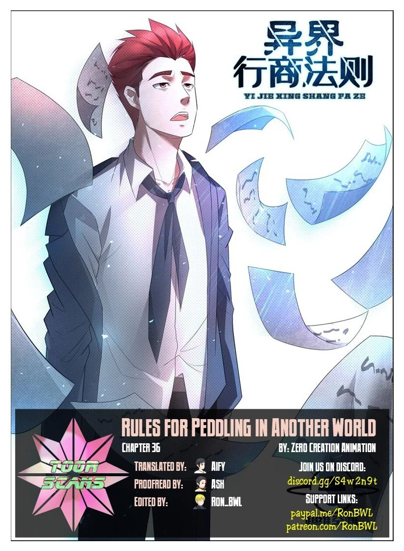 Manga Rules For Peddling In Another World - Chapter 36 Page 1