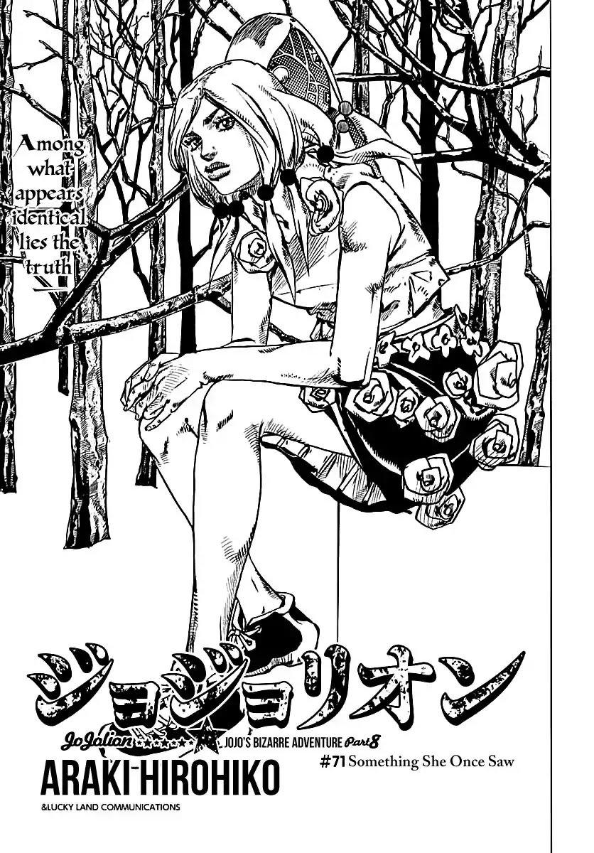 Manga Jojo No Kimyou Na Bouken - Chapter 918 Page 1