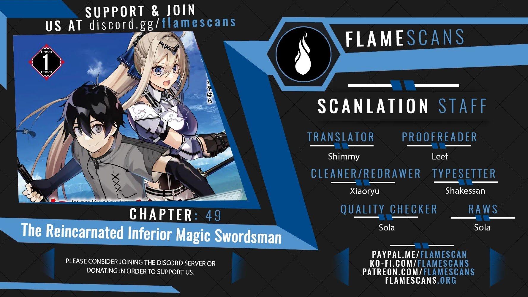 Manga The Reincarnated Inferior Magic Swordsman - Chapter 49 Page 1