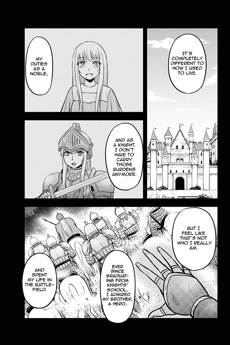 Manga Regarding That We Decided to Live in the Countryside With The Female Knight Who Came to Us - Chapter 47 Page 3