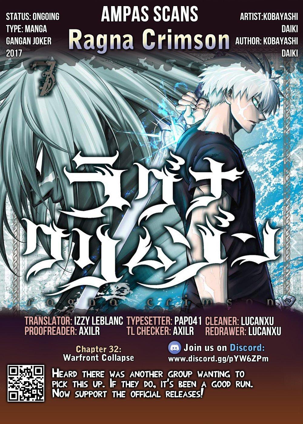 Manga Ragna Crimson - Chapter 32 Page 33
