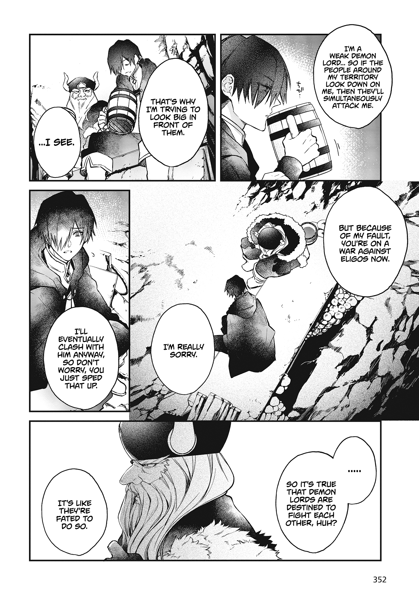 Manga The Legendary Rebuilding of a World by a Realist Demon King - Chapter 12 Page 25