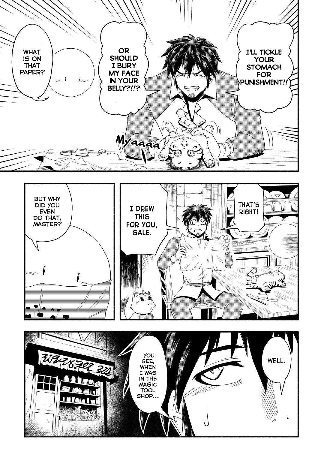 Manga Isekai ni Tobasareta Ossan wa Doko e Iku? - Chapter 26 Page 22