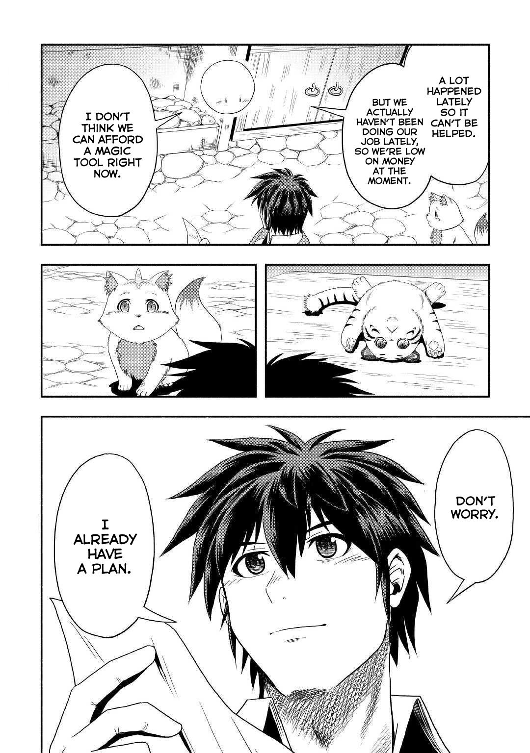 Manga Isekai ni Tobasareta Ossan wa Doko e Iku? - Chapter 26 Page 25