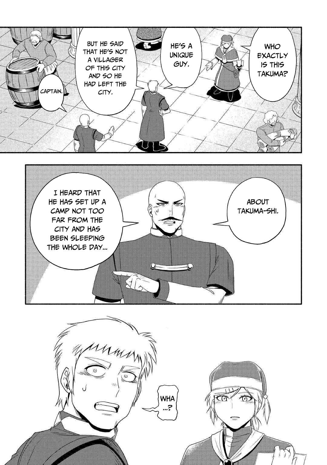 Manga Isekai ni Tobasareta Ossan wa Doko e Iku? - Chapter 28 Page 18