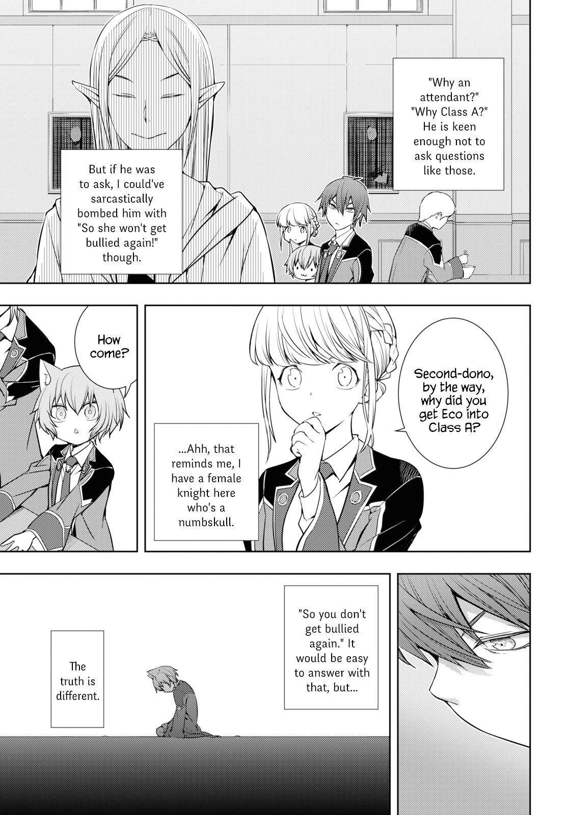 Manga The Former Top 1's Sub-Character Training Diary ~A Dedicated Player is Currently Conquering Another World!~ - Chapter 11 Page 9