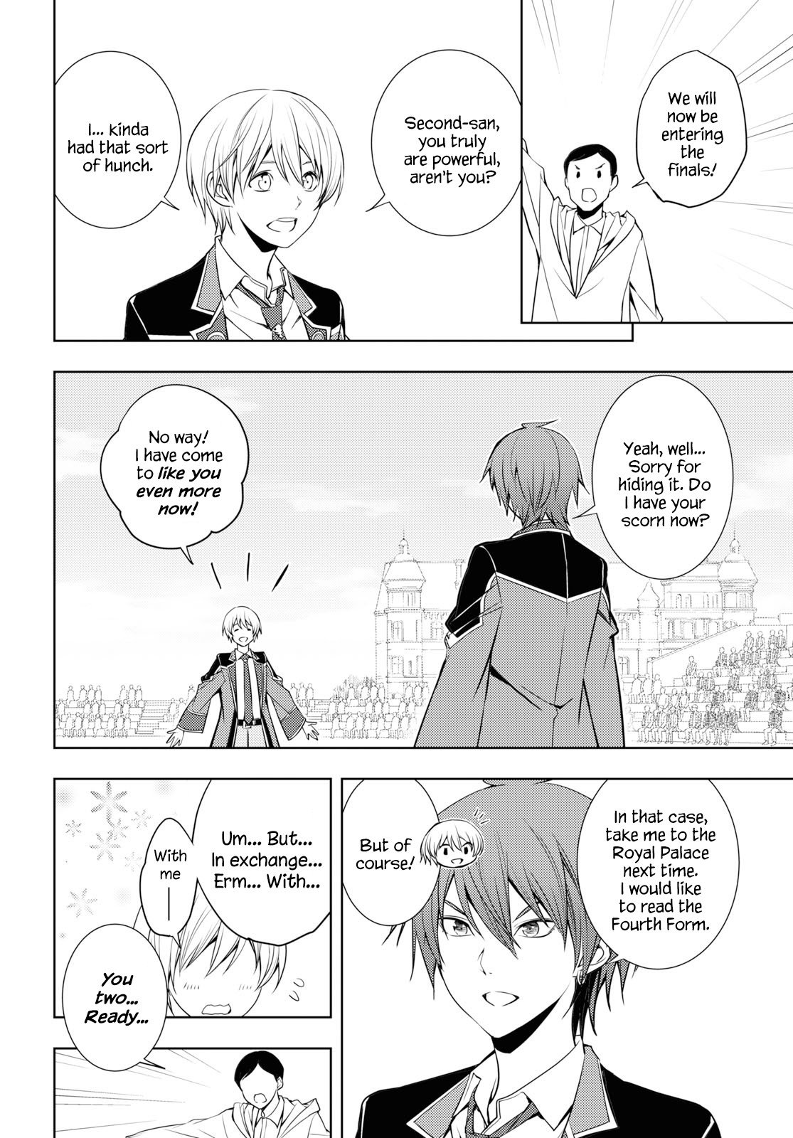 Manga The Former Top 1's Sub-Character Training Diary ~A Dedicated Player is Currently Conquering Another World!~ - Chapter 14 Page 8