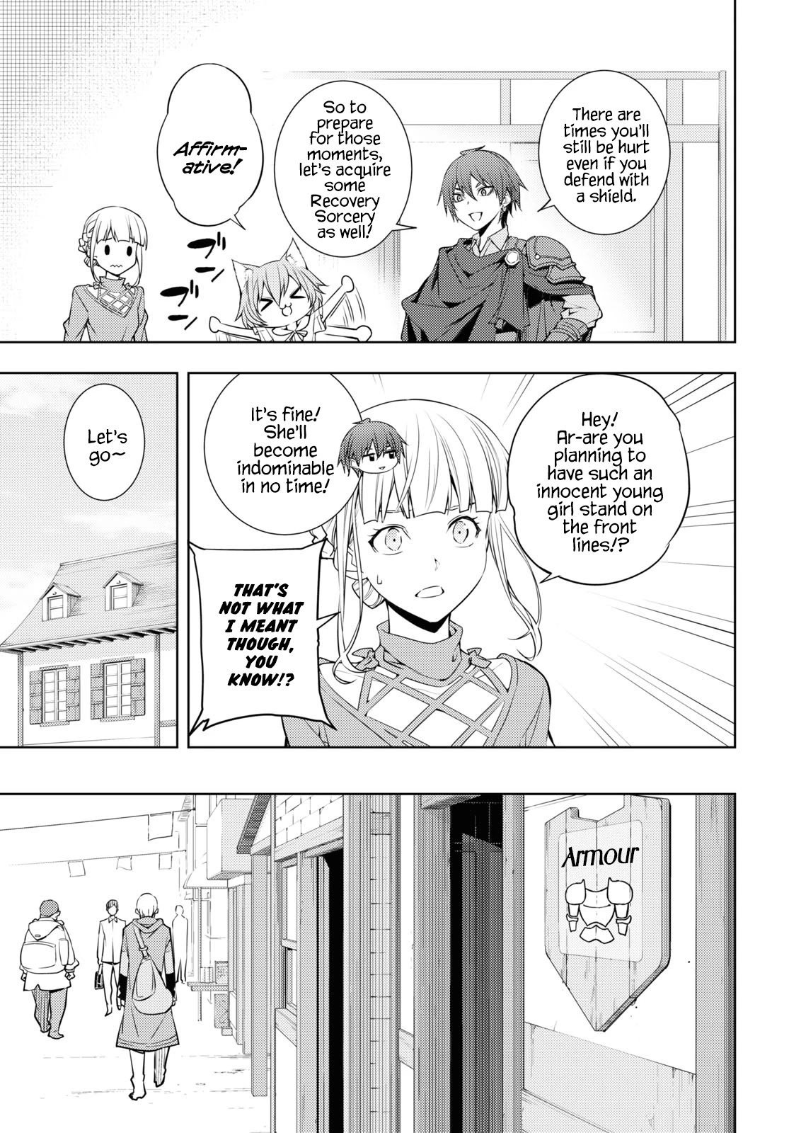 Manga The Former Top 1's Sub-Character Training Diary ~A Dedicated Player is Currently Conquering Another World!~ - Chapter 16 Page 5