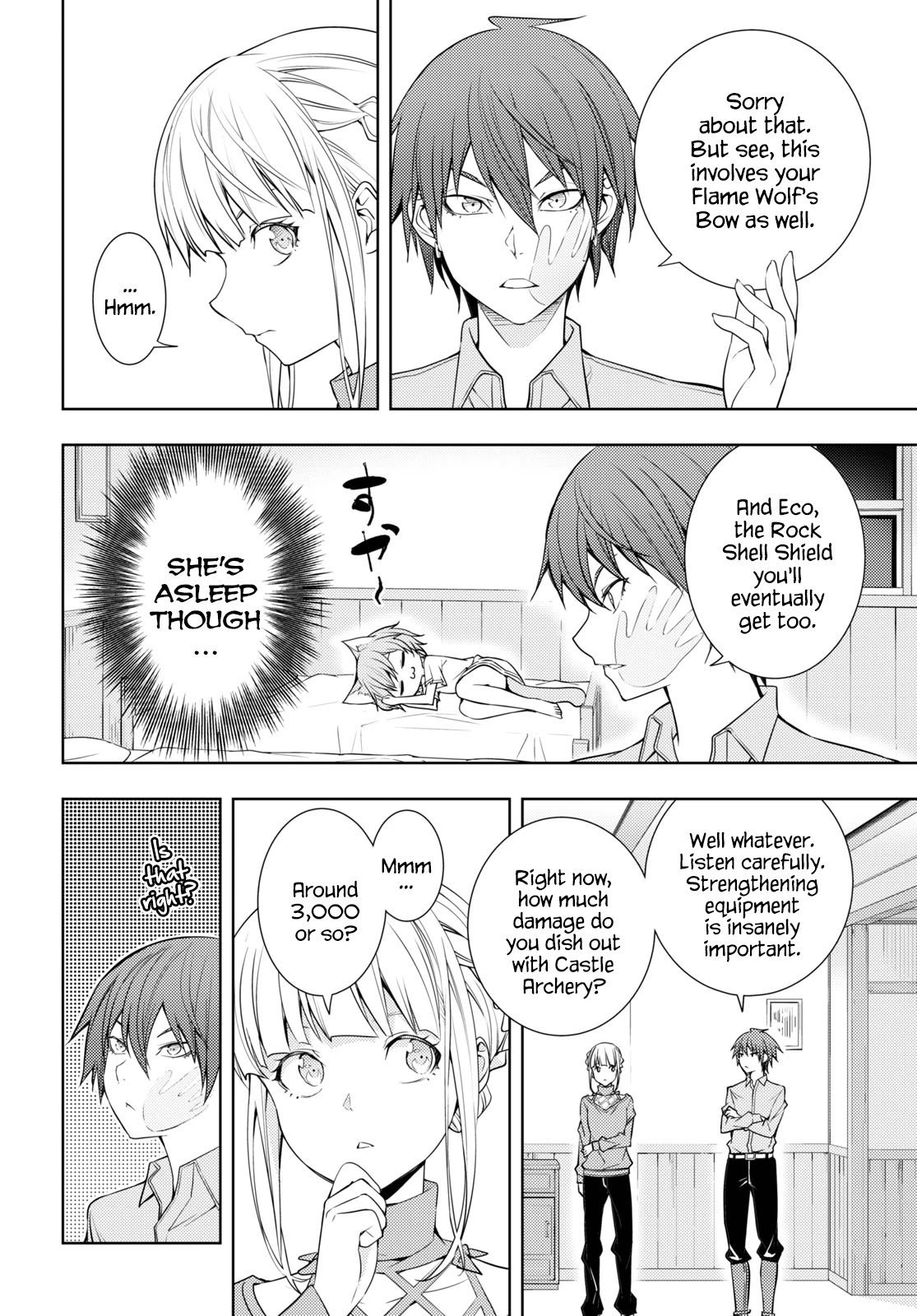 Manga The Former Top 1's Sub-Character Training Diary ~A Dedicated Player is Currently Conquering Another World!~ - Chapter 17 Page 12