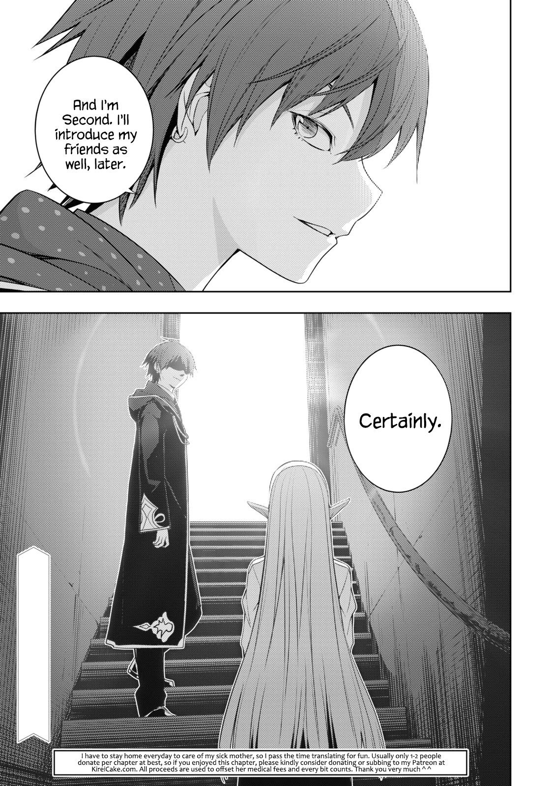 Manga The Former Top 1's Sub-Character Training Diary ~A Dedicated Player is Currently Conquering Another World!~ - Chapter 18 Page 21