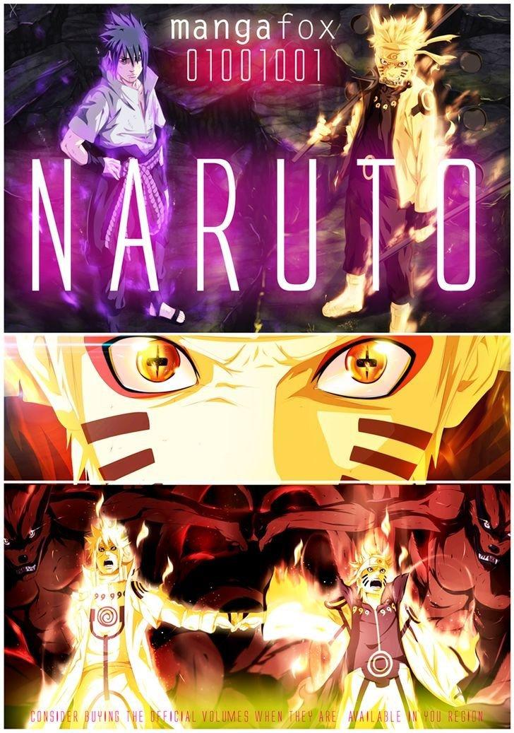 Manga Naruto - Chapter 699.1 Page 1