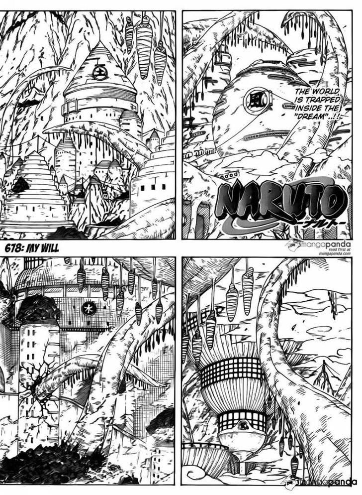 Manga Naruto - Chapter 678 Page 1
