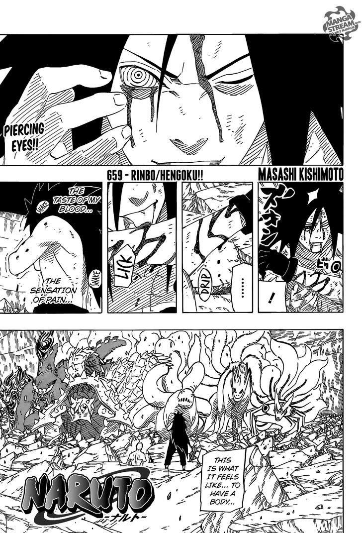 Manga Naruto - Chapter 659 Page 1