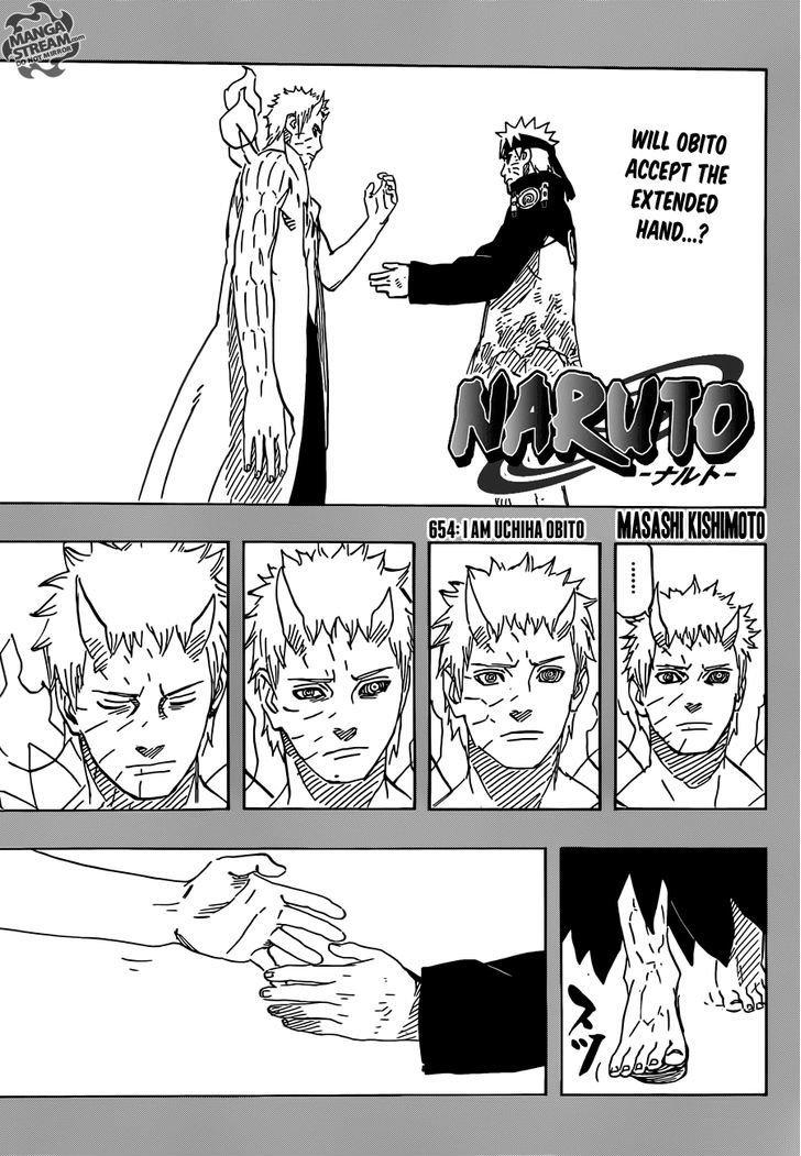 Manga Naruto - Chapter 654 Page 1