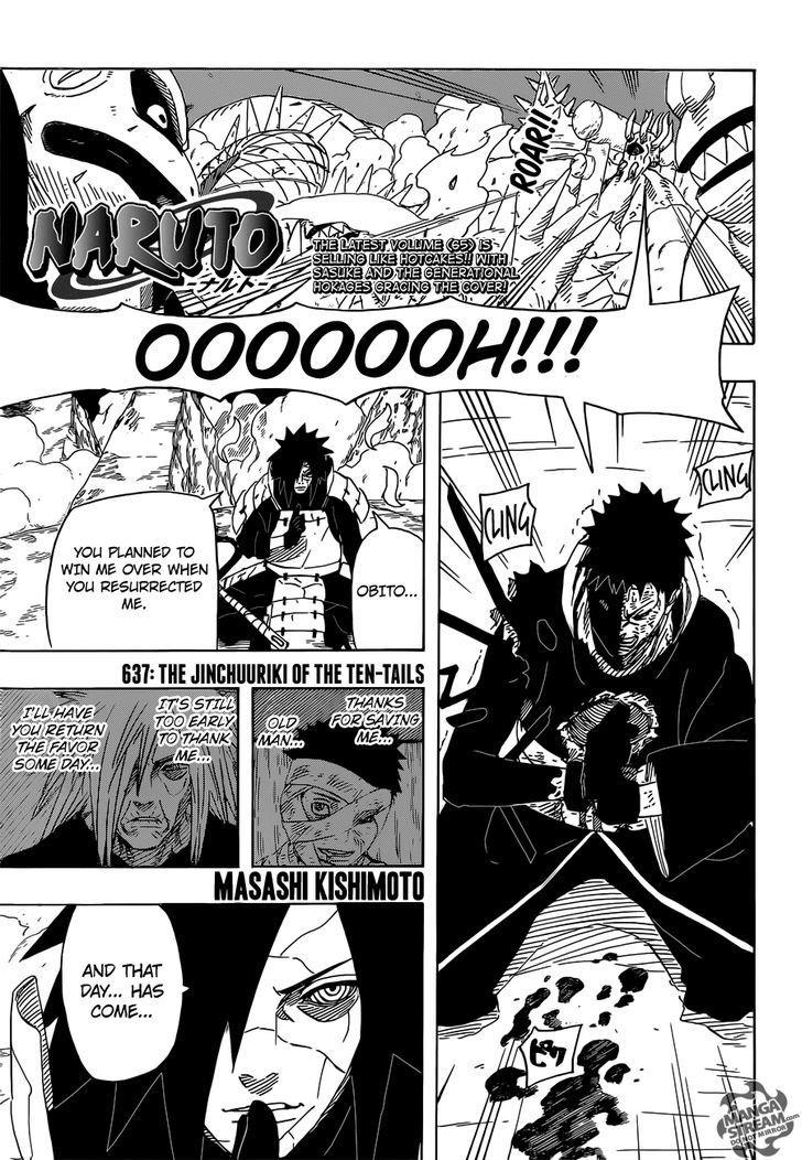 Manga Naruto - Chapter 637 Page 1