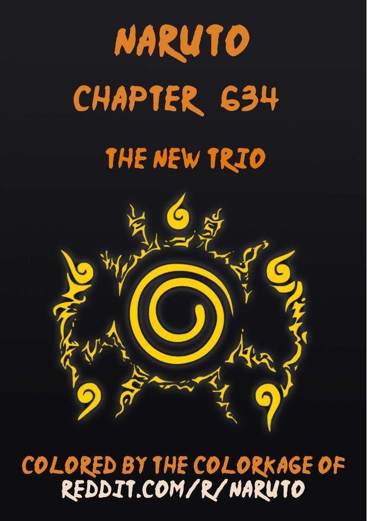 Manga Naruto - Chapter 634.1 Page 1
