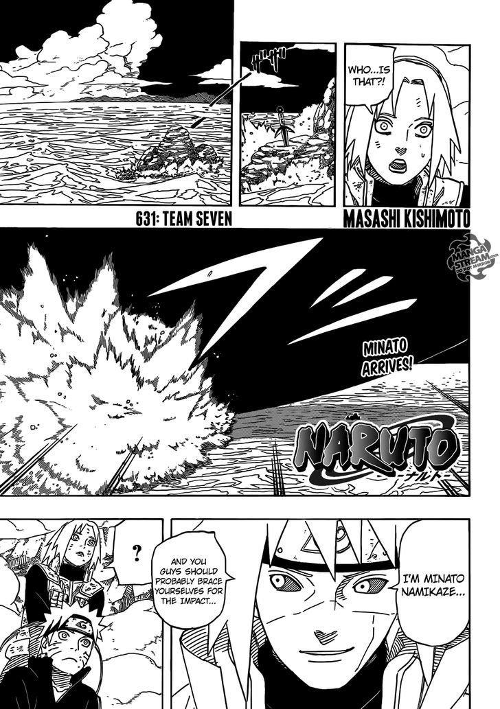 Manga Naruto - Chapter 631 Page 1