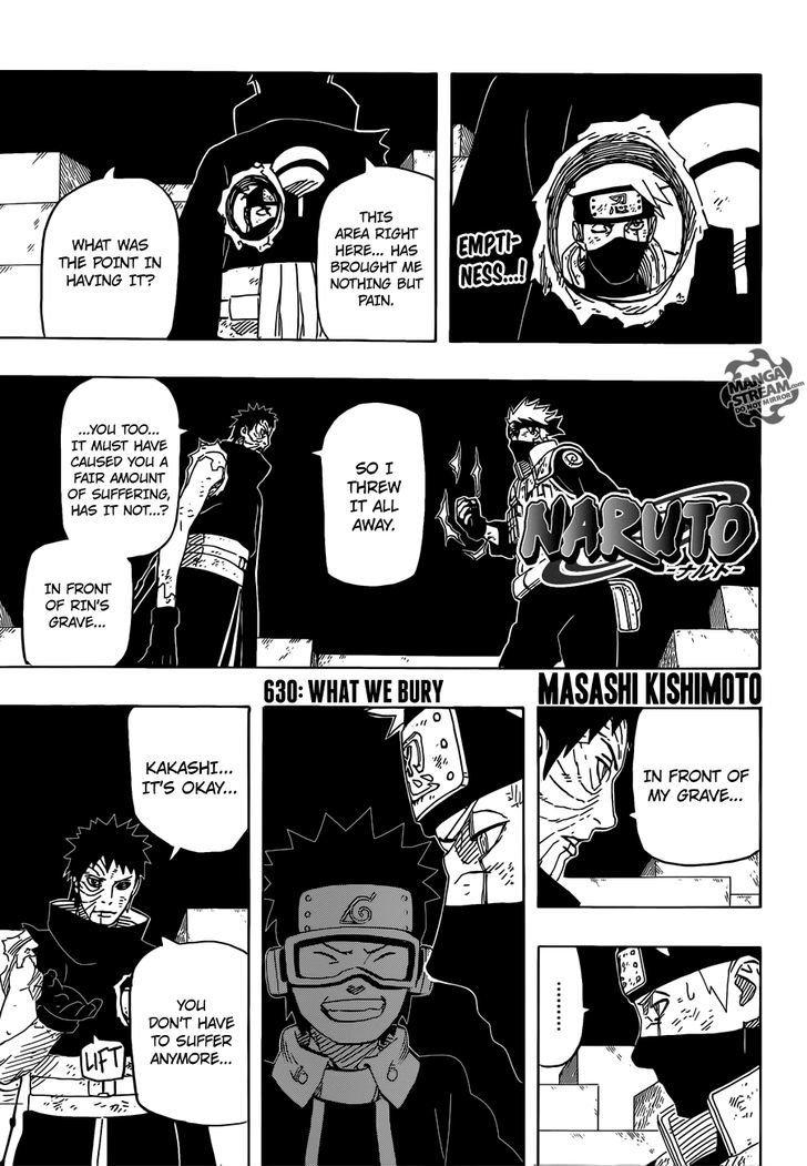 Manga Naruto - Chapter 630 Page 1