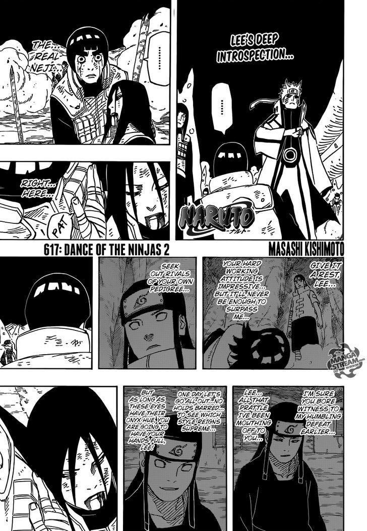 Manga Naruto - Chapter 617 Page 1