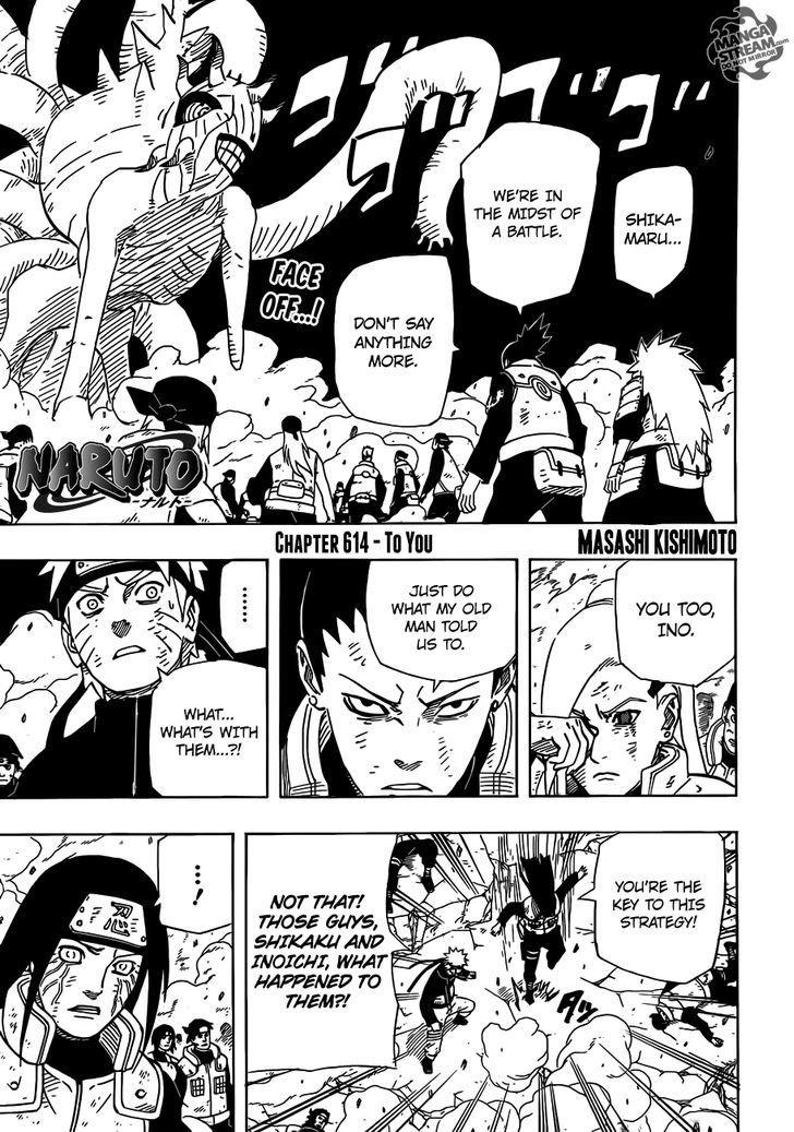 Manga Naruto - Chapter 614 Page 1
