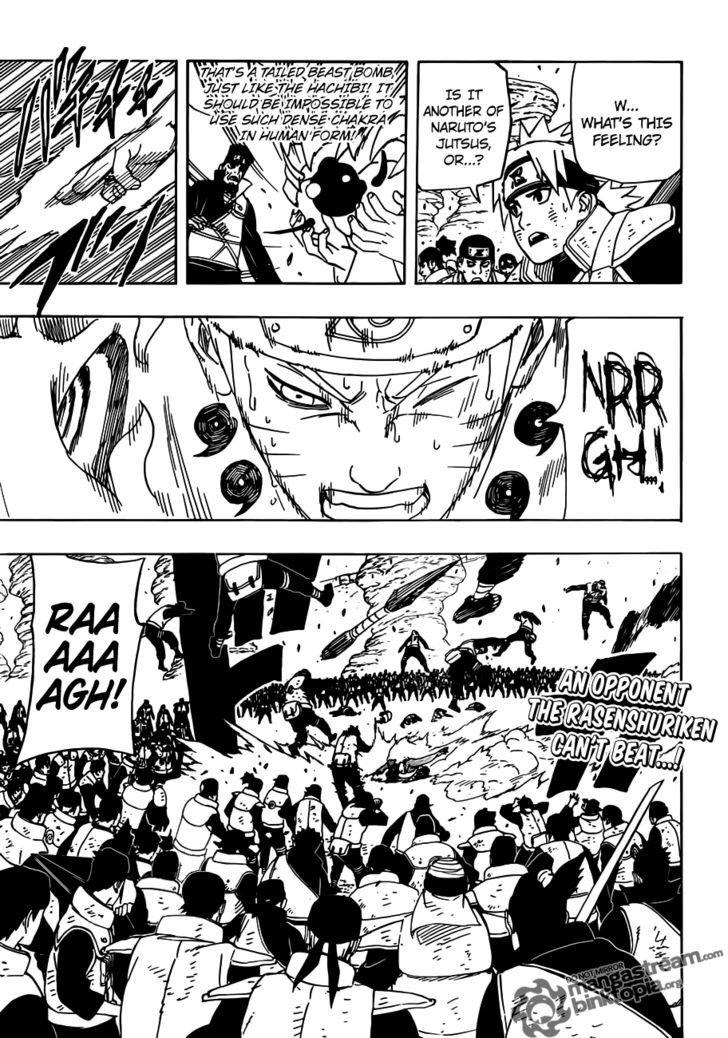 Manga Naruto - Chapter 555 Page 1