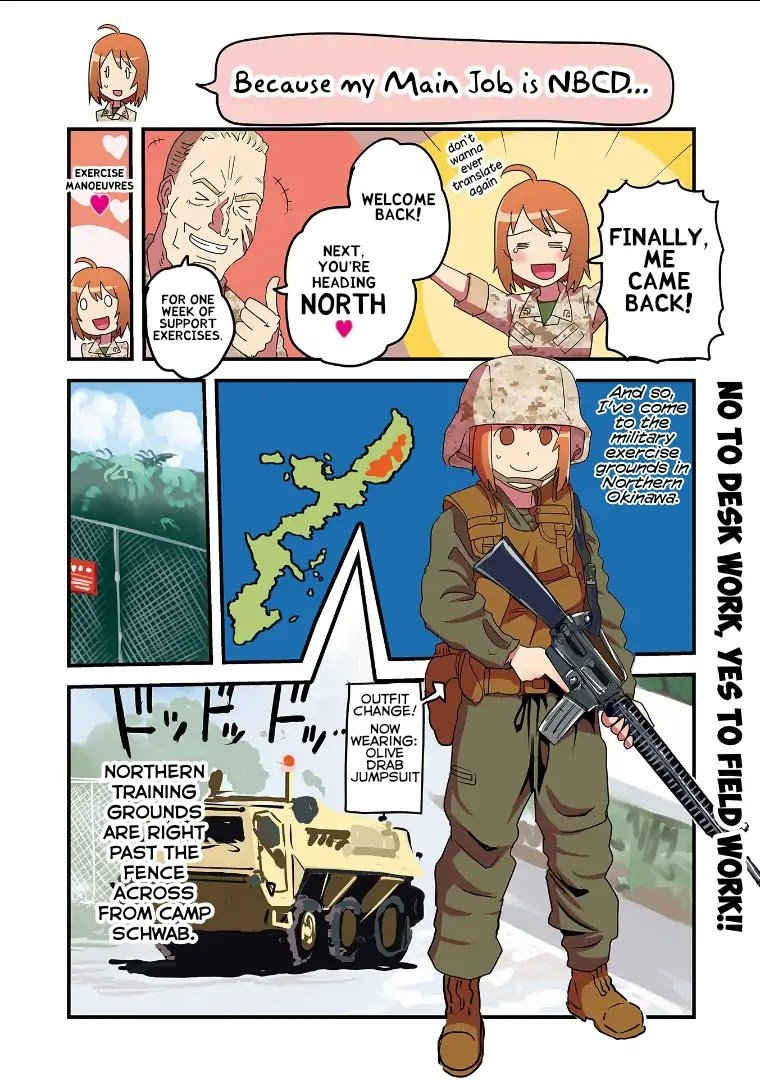 Manga Marine Corps Yumi - Chapter 86 Page 1