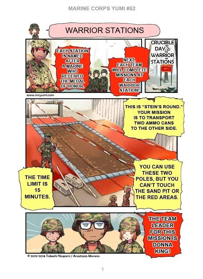 Manga Marine Corps Yumi - Chapter 52 Page 1