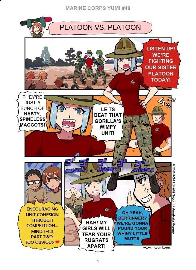 Manga Marine Corps Yumi - Chapter 48 Page 1