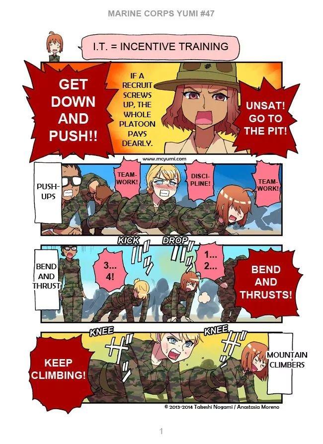 Manga Marine Corps Yumi - Chapter 47 Page 1