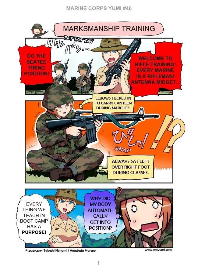 Manga Marine Corps Yumi - Chapter 46 Page 1
