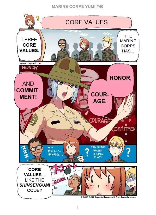Manga Marine Corps Yumi - Chapter 40 Page 1
