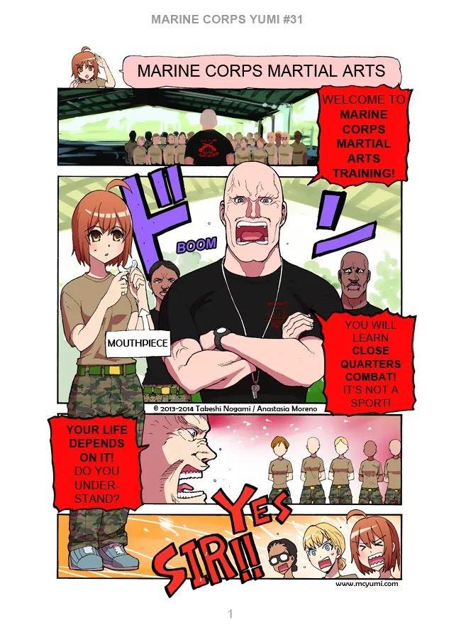 Manga Marine Corps Yumi - Chapter 31 Page 1
