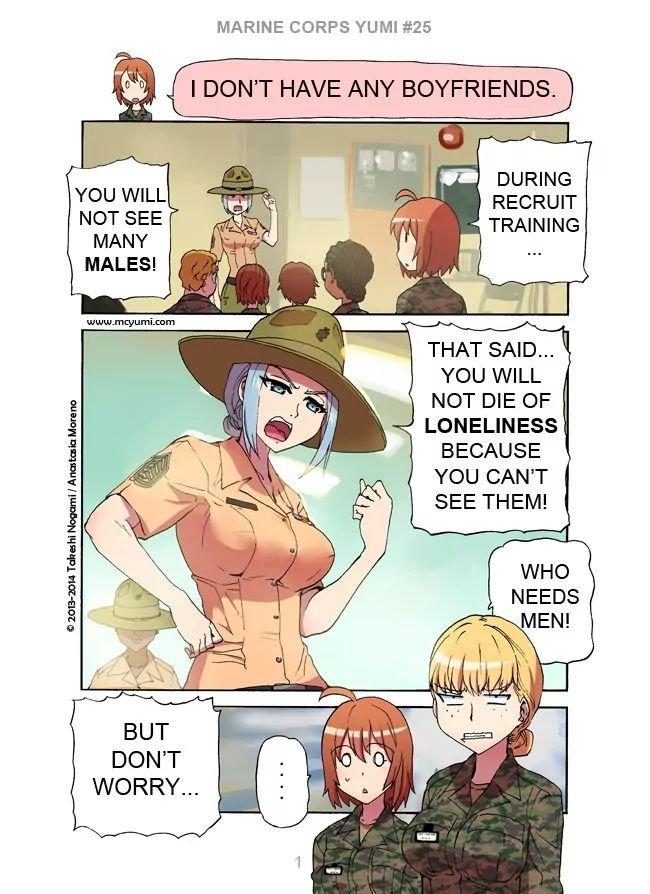 Manga Marine Corps Yumi - Chapter 25 Page 1