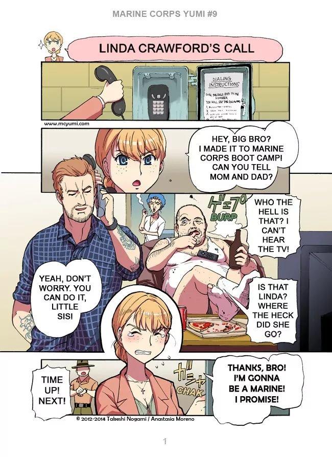 Manga Marine Corps Yumi - Chapter 9 Page 1