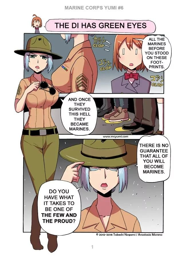 Manga Marine Corps Yumi - Chapter 6 Page 1