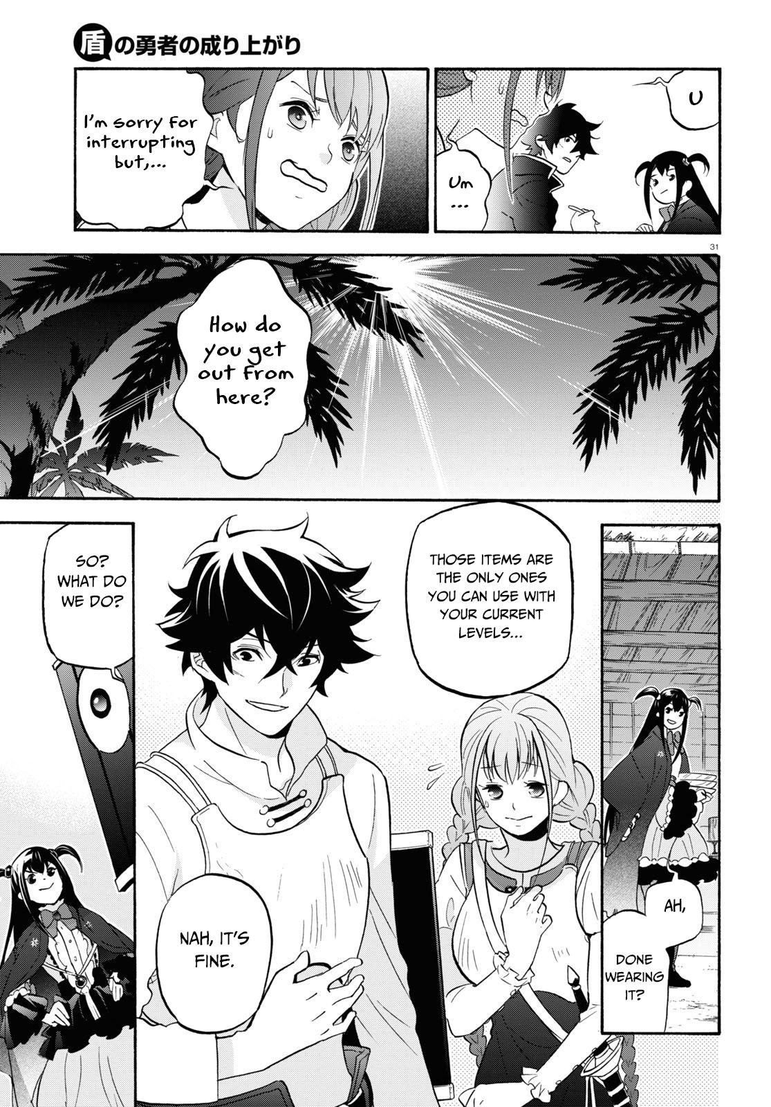 Manga The Rising of the Shield Hero - Chapter 64 Page 32