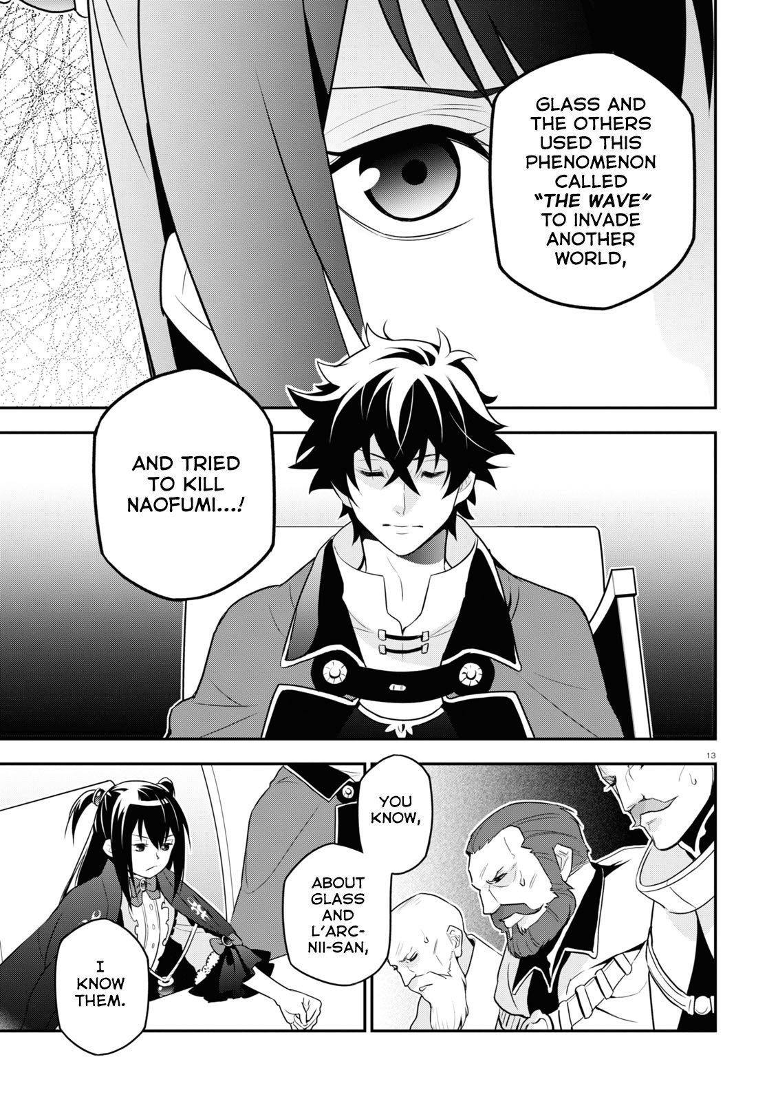 Manga The Rising of the Shield Hero - Chapter 69 Page 14