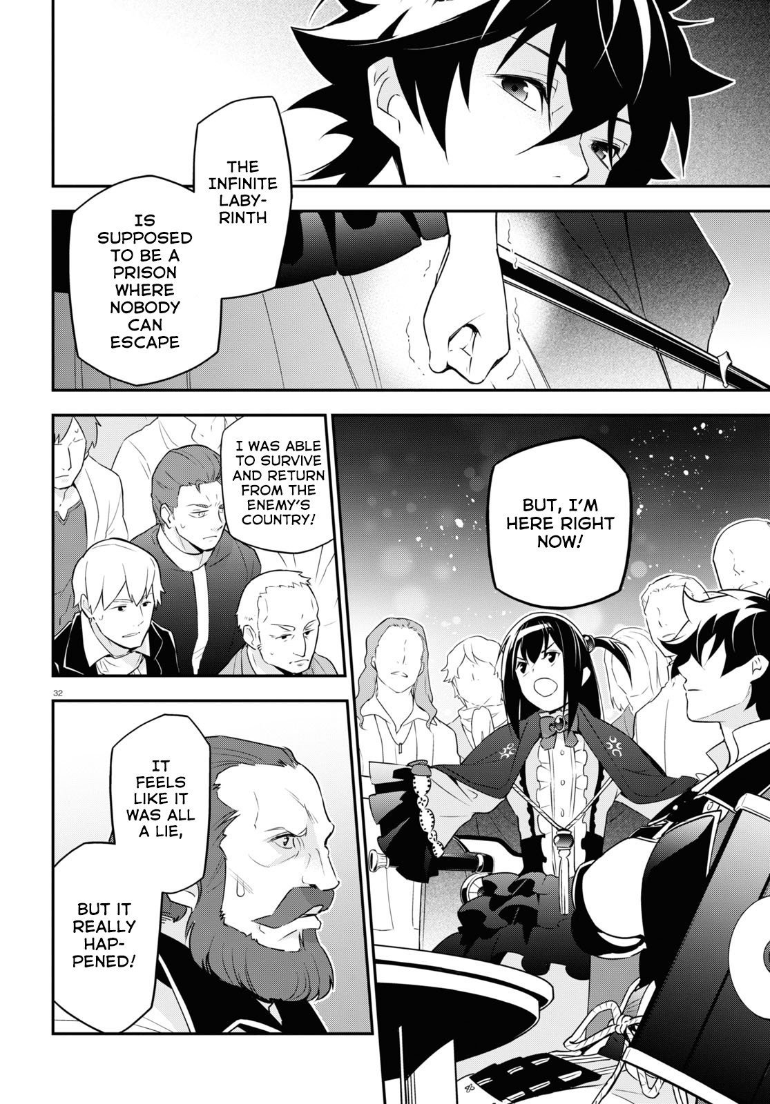 Manga The Rising of the Shield Hero - Chapter 69 Page 33