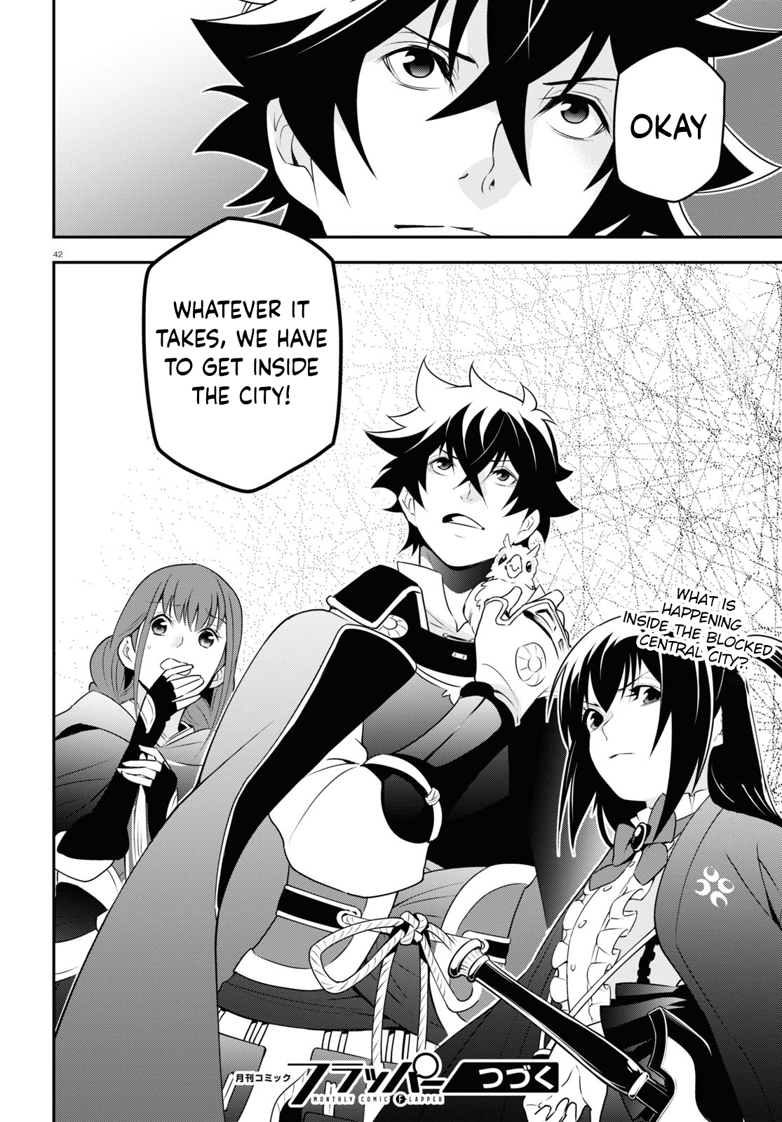 Manga The Rising of the Shield Hero - Chapter 72 Page 43